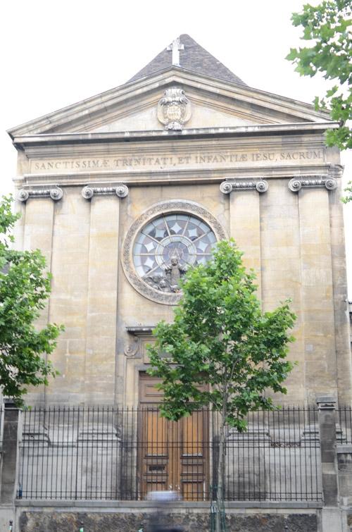 chapelle paris 14e saint vincent de paul